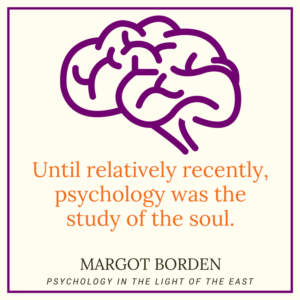"""Refreshing change of paradigm"" review of Margot Borden's Psychology in the Light of the East"