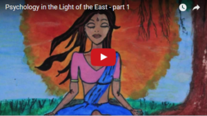 Psychology in the Light of the East – part 1