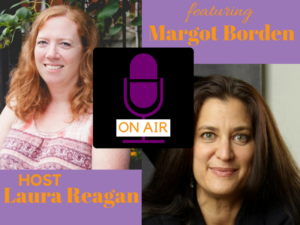 Margot Borden's appearance on the Therapy Chat podcast with Laura Reagan